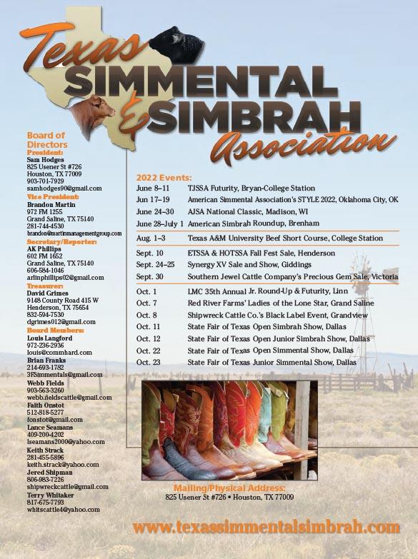 Texas Simmental Association